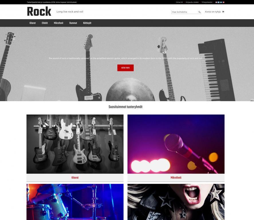 Rock teema