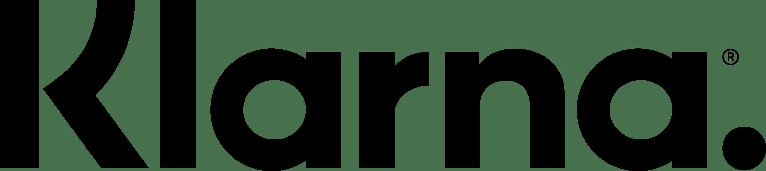 Klarna logo_black